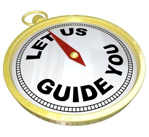 Compass signifying a guide for travelers
